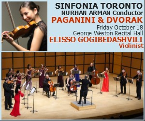 Sinfonia Toronto - 10/19/2019