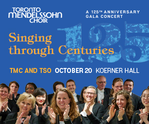 Toronto Mendelssohn Choir - 10/21/2019