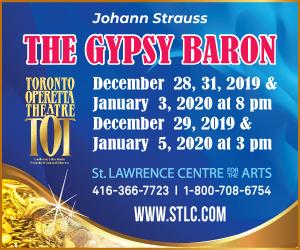 Toronto Operetta Theatre - 11/8/2019