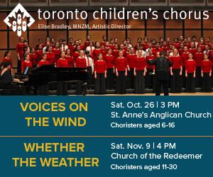 Toronto Children's Chorus - 11/10/2019