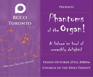 Royal Canadian College of Organists - 10/26/2019