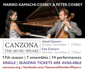 Canzona Chamber Players - 12/3/2019