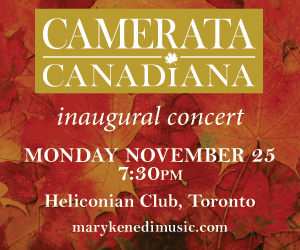 Camerata Canadiana - 11/26/2019