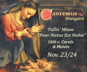 Cantemus Singers - 11/25/2019