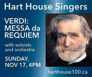 Hart House Singers - 11/18/2019