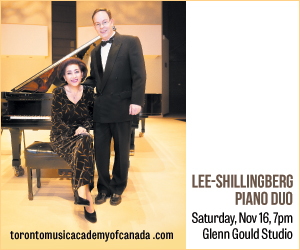Toronto Music Academy of Canada/Lee Shillingberg - 11/17/2019