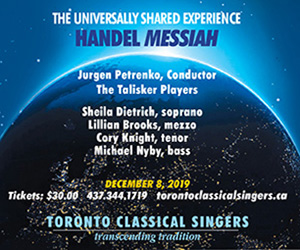 Toronto Classical Singers - 12/8/2019