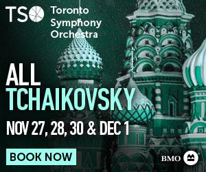 Toronto Symphony Orchestra #3 - 12/2/2019