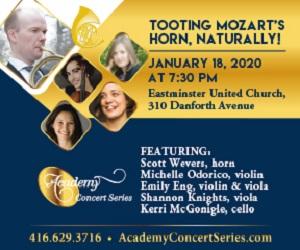 Academy Concert Series - 1/19/2020