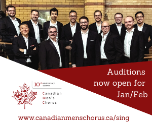 Canadian Men's Chorus - 12/22/2019