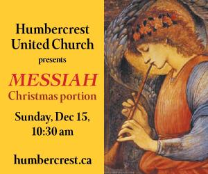 Humbercrest United Church - 12/16/2019