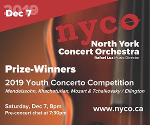 North York Concert Orchestra - 12/8/2019