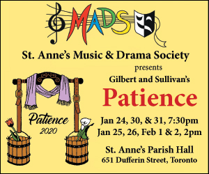 St. Anne's Music & Drama Society - 2/3/2020