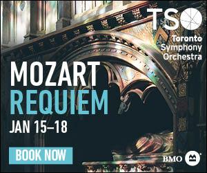 Toronto Symphony Orchestra #4 (Mozart) - 1/19/2020