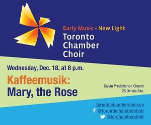 Toronto Chamber Choir - 12/18/2019