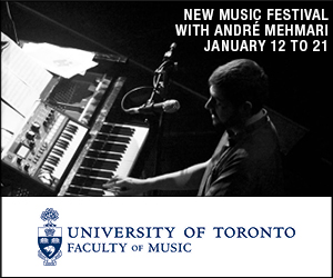 University of Toronto Faculty of Music #2 - 1/22/2020