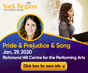York Region Chamber Music #2 - 1/30/2020