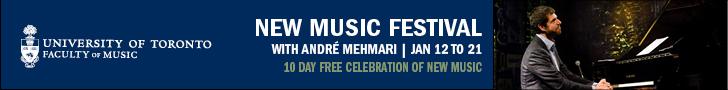 University of Toronto Faculty of Music - 1/22/2020