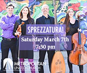 Music at Metropolitan - 3/8/2020