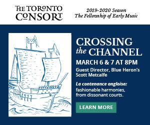 Toronto Consort #2 - 3/8/2020