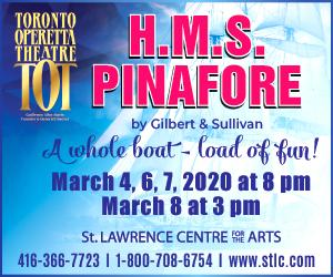 Toronto Operetta Theatre #1 - 3/8/2020