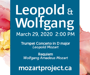 Toronto Mozart Players - 3/30/2020