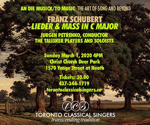 Toronto Classical Singers - 3/2/2020