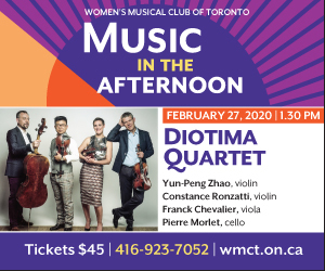 Women's Musical Club of Toronto - 2/28/2020