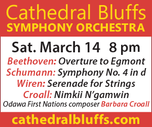 Cathedral Bluffs Symphony Orchestra - 3/15/2020