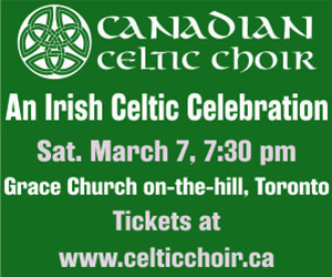 Canadian Celtic Choir - 3/8/2020
