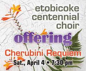 Etobicoke Centennial Choir - 4/5/2020