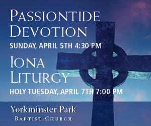 Yorkminster Park Baptist Church #2 - 4/8/2020