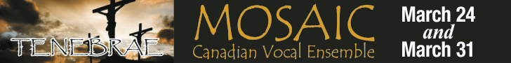 Mosaic Canadian Vocal Ensemble #1 - 4/1/2020