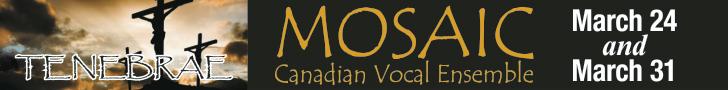 Mosaic Canadian Vocal Ensemble #1 - 4/1/2020