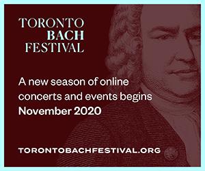 Toronto Bach Festival - 11/2/2020
