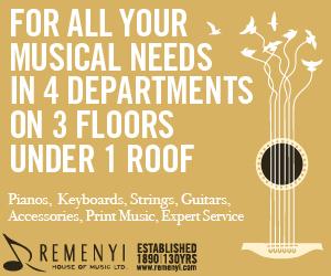 Remenyi House of Music - 1/31/2021