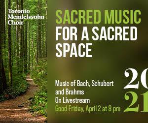 Toronto Mendelssohn Choir #2 - 8/31/2021