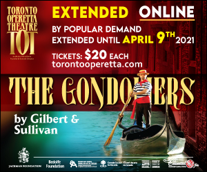 Toronto Operetta Theatre #2 - 4/9/2021