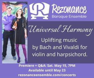 Rezonance Baroque Ensemble - 5/24/2021