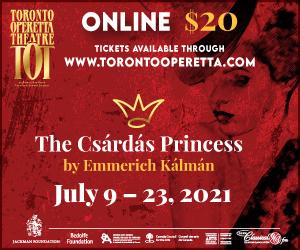Toronto Operetta Theatre 2 - 7/23/2021