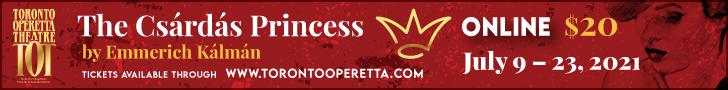 Toronto Operetta Theatre 1 - 7/23/2021