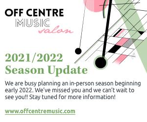 Off Centre Music Salon - 9/17/2021