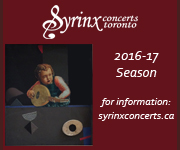Syrinx - Season - To Apr 7