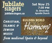Jubilate Singers - November 25