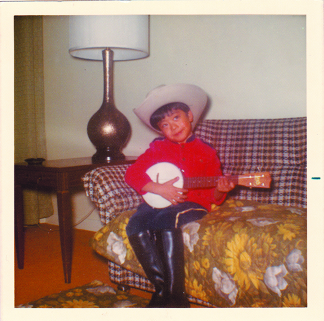 Richmond Hill, Ontario, Halloween 1975 - 'This drum sure has a funny handle!'