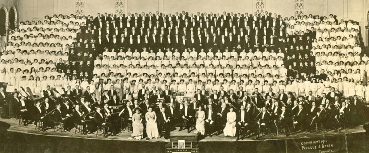 The Toronto Mendelssohn Choir at 125