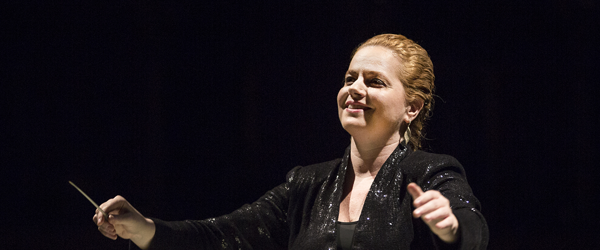 Always Asking Why: Speranza Scappucci, conductor