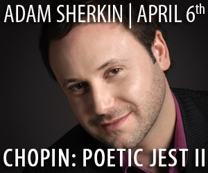 Adam Sherkin - To Apr 6