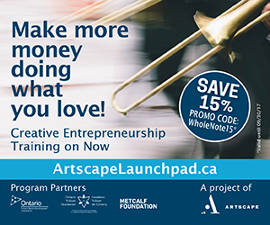 Artscape Launchpad - March 2017