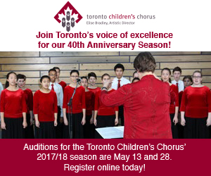 Toronto Children's Chorus - March 2017